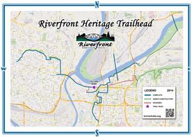 KC Riverfront Heritage Trail Map Thumb